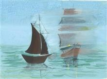 Painting  by Kalash Durgesh Desai - Boat