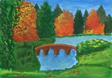 Painting  by Kalash Durgesh Desai - Bridge