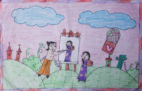 Painting  by Ritu  - Chota bheem
