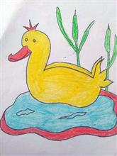 Painting  by S Aswatha - Duck