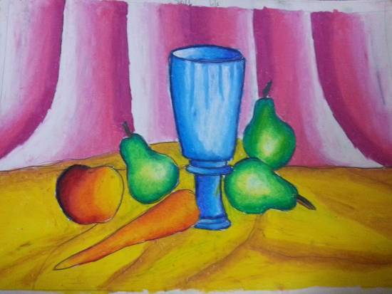 painting by Mariya Kapadia - Still Life