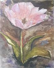 Painting  by Mariya Kapadia - Flower