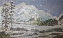 Painting  by Mariya Kapadia - Snow