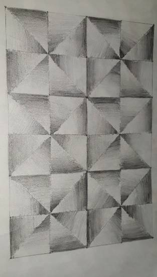 painting by Achira Shah - Pattern - 2