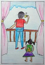 Painting  by Mrugakshi Shailesh Pedgaonkar - Father's Day