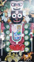 Lord Jagannath - Biratrup, Painting by Abhisek Ghosh