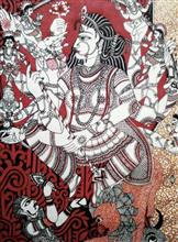 Durga - The Universal Mother, Painting by Abhisek Ghosh