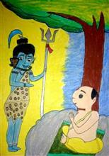 Painting  by Sargun Maini - Lord Shiva