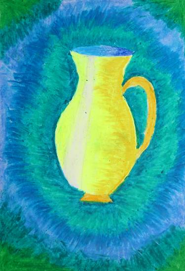 Painting  by Swanandi Ananda Babrekar - Flower Pot