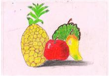 Painting  by Swanandi Ananda Babrekar - Fruits I love