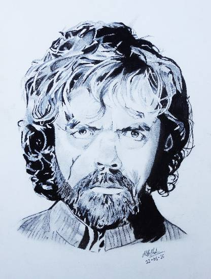 Painting  by Manal Bhavik Shah - Tyrion Lannister