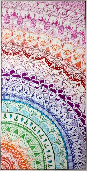 Painting  by Naisargi Parag Buch - Design - 4