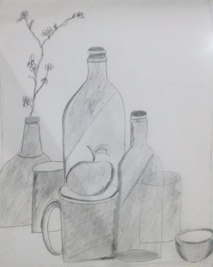 Painting  by Nilesh Harendra Mishra - Still Life