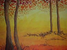 Painting  by Prathmesh Mahesh Bhalerao - Forest - 2