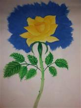 Painting  by Prathmesh Mahesh Bhalerao - Rose