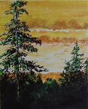 Twilight Saga, Painting by Rakhi Chatterjee