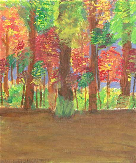 Painting  by Rujuta Amit Dixit - Forest