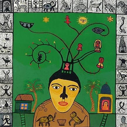 The Magician, print by Madhvi Parekh