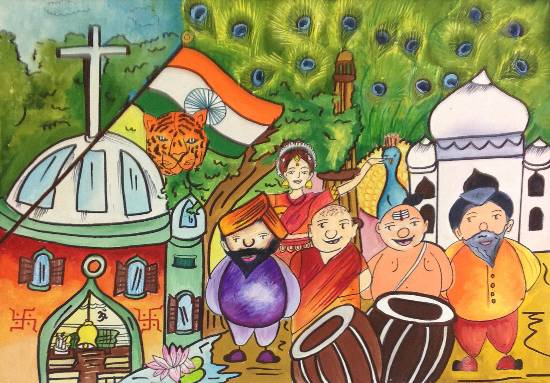 Painting  by Sanjana Agarwal - India