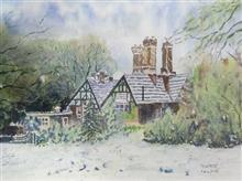 The Winter Villa, Painting by Ratnamala Indulkar