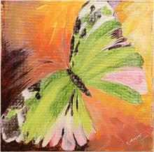 Butterfly, Painting by Ratnamala Indulkar