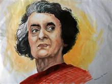 Painting  by Swayam Aniket Mane - Portrait