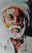 Painting  by Vibhuti Pravin Tharali - Indian Farmer