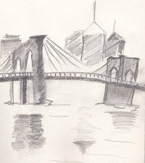 Painting  by Tanmay Sameer Karve - Silent Bridge