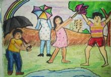 Painting  by Tanmay Sameer Karve - Monsoon