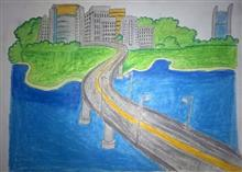 Painting  by Vedant Satish Koli - City