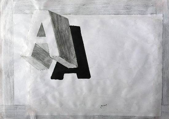 Painting  by Jashandeep Singh - Typography