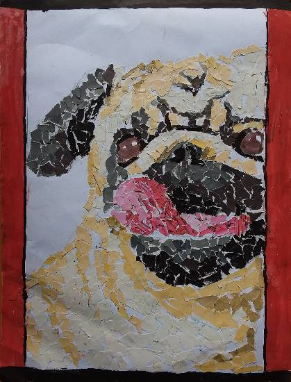 Painting  by Tarunpreet Singh - My Dog