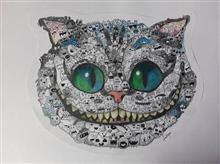 Painting  by Anushka Chadha - Cheshire cat