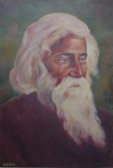 painting by H. C. Rai