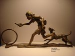 Joy of Life I, Bronze sculpture by Mukund Ketkar, 21 x 44 x 15 cm
