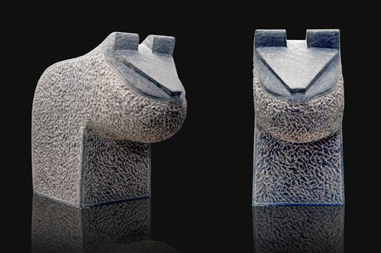 Cat Moods 1, Sculpture by Prashant Bangal