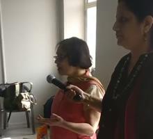 Art of Recycling, workshop by Gauri Ketkar - Part 11 (at Jaipur Art Summit 2017)