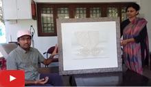 Uday Raghuwanshi on his 3D printed sculptural painting
