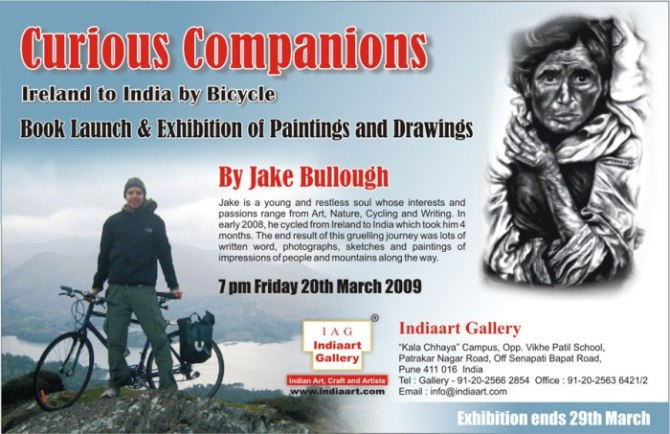 Invitation Exhibition Of Oil Paintings And Charcoal Drawings