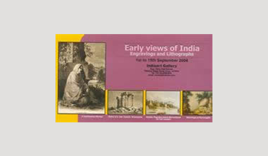 Early views of India