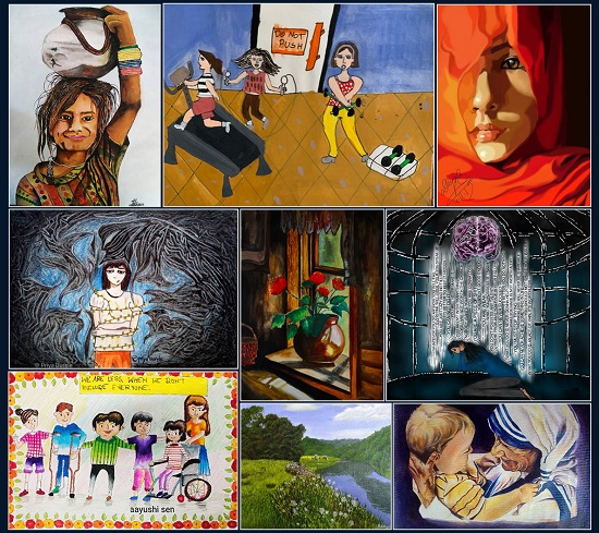 Online exhibition | Khula Aasmaan art contest January to March 2020