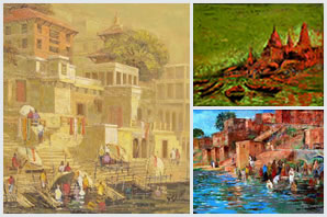 Indiaart - Banaras Paintings