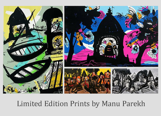 Indiaart - Limited Edition Prints by Manu Parekh