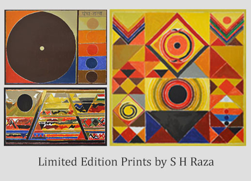 Indiaart - Limited Edition Prints by S H Raza