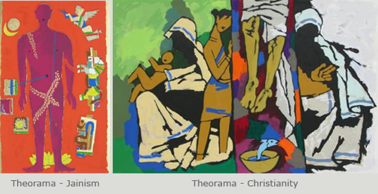 Indiaart - Theorama Limited Edition Prints by M F Husain
