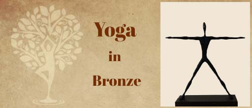 Yoga in Bronze at Indiaart Gallery, Pune