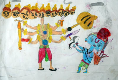 Khula Aasmaan - Painting by Mehak Borse
