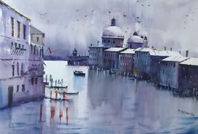 Art, Artworks and paintings for Cityscape theme in Indiaart.com