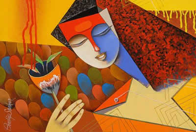 Art, Artworks and paintings for Figurative theme in Indiaart.com