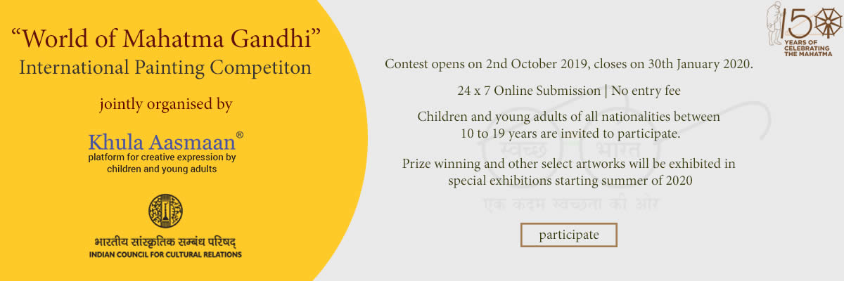 World of Mahatma Gandhi - International Painting Contest